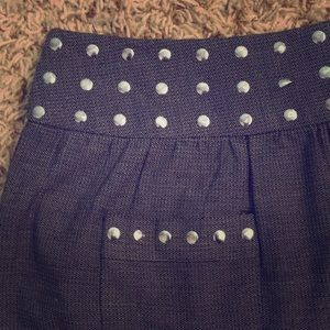 Candie's Brand Studded Mini Skirt